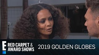 "Thandie Newton Gushes Over Daughter in ""Dumbo"" 