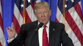Trump Full Press Conference as President-Elect (HD) | ABC News