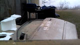 ZMax 223 AR 15 Ammo Vs Car Door  Penetration Test