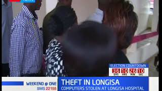 Thieves tamper with servers after a break-in at Longisa County referral hospital in Bomet