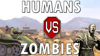 Humans vs Zombies! World of Tanks Blitz