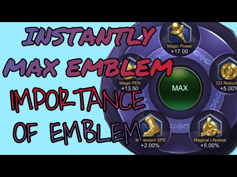 Cheat on HOW TO MAX EMBLEM FAST and IMPORTANCE OF EMBLEM MOBILE LEGENDS! Mythic secret 🤫🤫