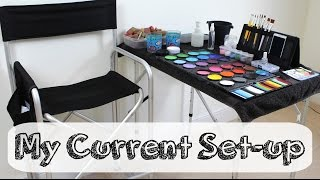 My Face Painting Set Up 2014