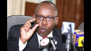 BREAKING NEWS: AG Githu Muigai: Raila Odinga to be charged with treason if he's sworn in