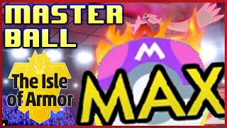Master Ball Ranked Ladder! Isle of Armor Pokemon Sword and Shield Competitive Singles Wifi Battle