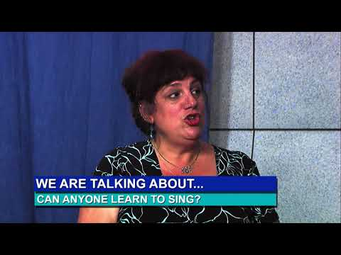 Roberta De Fiore Interviewed by Bill Dillane:  Anyone Can Learn to Sing.  Now enrolling new students.
