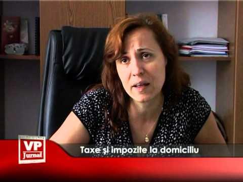 Taxe și impozite la domiciliu
