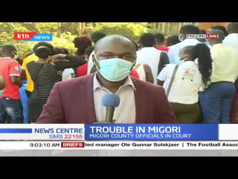 Trouble in Migori: 18 Migori county officials accused of abuse of office to know their fate today