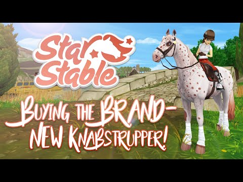 Buying the BRAND-NEW Knabstruppers! Andalusian copy?   Star Stable Updates