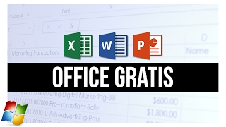 Cómo Descargar OFFICE GRATIS 100% LEGAL (Para Windows)