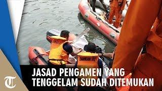 Jasad Pengamen yang Tenggelam di Kali Sunter Ditemukan