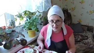 Сырный суп/Деревенский обед/Трехслойное пюре/Внуки все съели