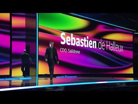 AWS re:Invent 2019 – Sebastien De Halleux of Saildrone Talks About Using AWS to Monitor Ocean Data