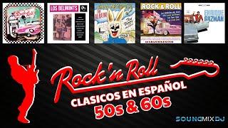 Rock & Roll 50's, 60's en Español || Mix Para Bailar || Rock Clásicos