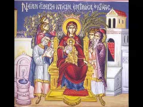 Ακάθιστος Ύμνος Μητρ.Ι.Ν.Αγ.Νικολάου 3/4/1998