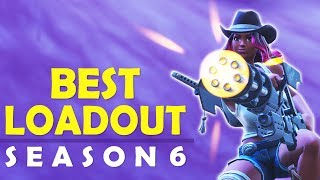 THE BEST LOADOUT SEASON 6   HOW TO WIN   HIGH KILL FUNNY GAME- (Fortnite Battle Royale)