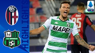 Bologna-Sassuolo 1-2, highlights