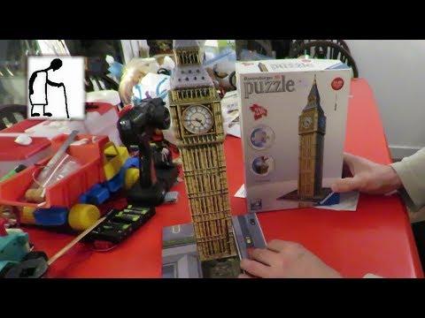 Ravensburger 3D Puzzle Big Ben London No 125548 REAL TIME