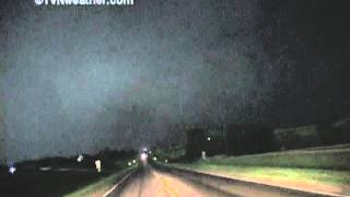 Largest tornado ever recorded? 2.5 miles wide! Hallam, Nebraska 2004