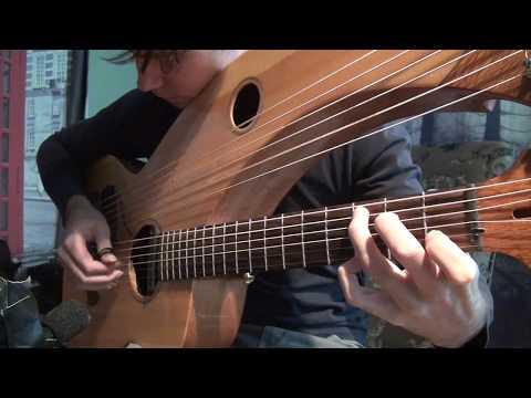 , title : 'Greensleeves - Harp Guitar - Jamie Dupuis'