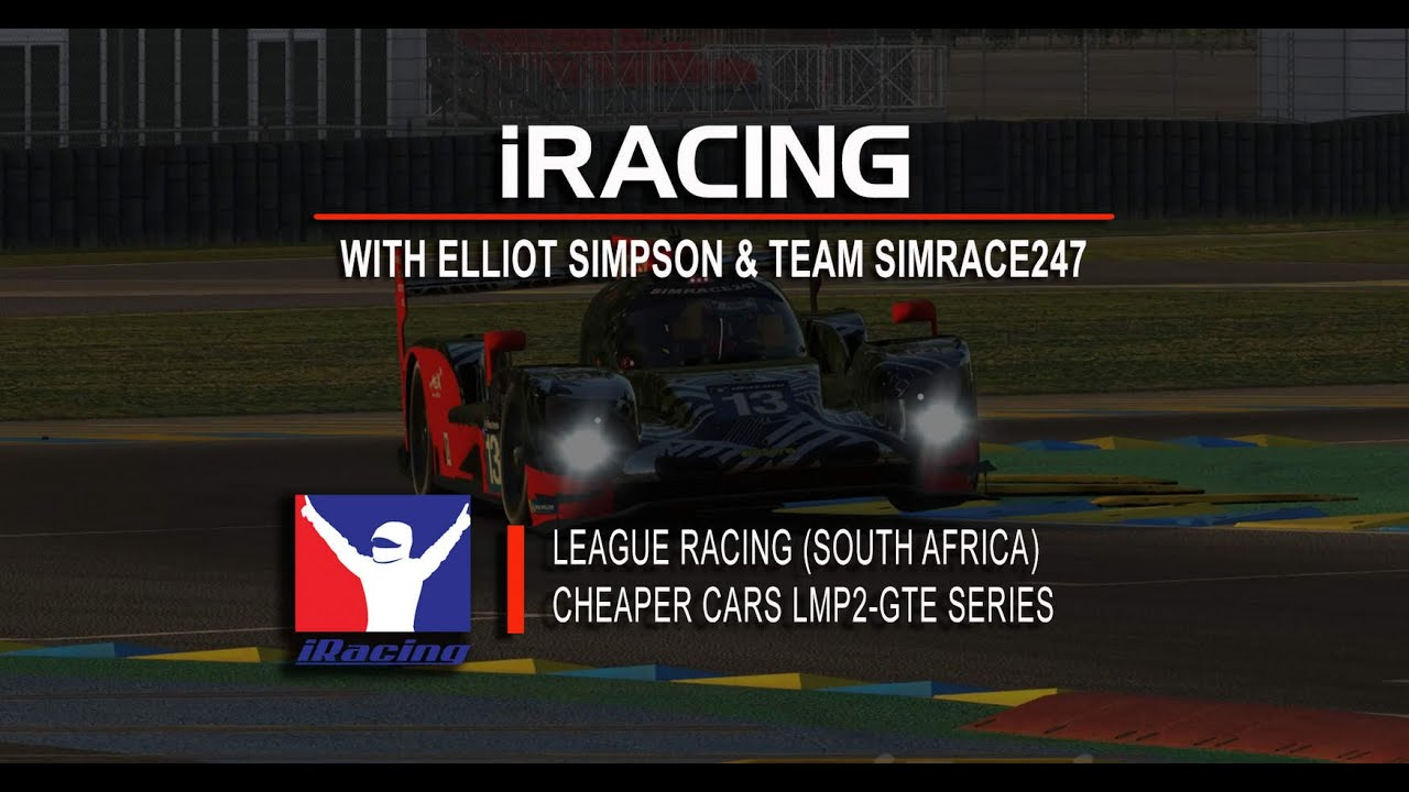 Team SIMRACE247 iRacing: Simpson wins Le Mans 1-Hour