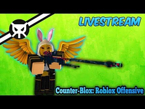 Roblox Live Stream!!! - Counter Blox Roblox Offensive