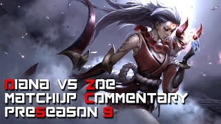 JP's Mastery Points 1st Diana - vs Zoe - Matchup commentary