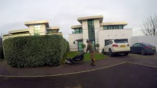 Cutting Grass Part 1 Lawn Care In The UK - Real Time