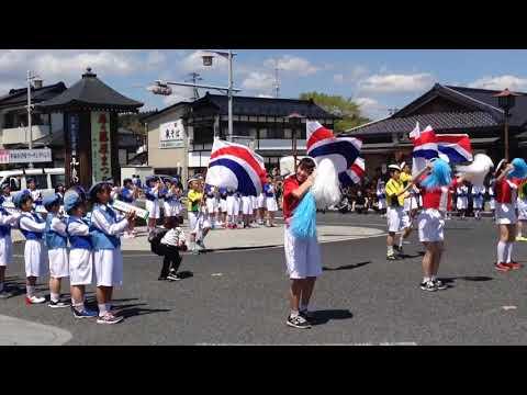 世界遺産平泉藤原まつり平泉小学校マーチングバンド