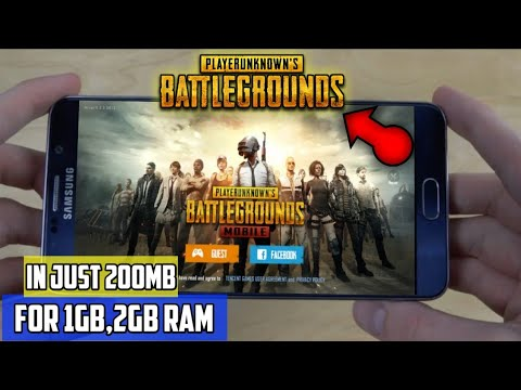 200MB] PUBG MOBILE [LITE] DOWNLOAD FOR 1GB,2GB RAM ALL ANDROID