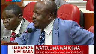 Mumias East MP Benjamin Washiali takes a swipe at former party ODM during cabinet vetting