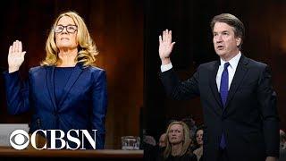 Brett Kavanaugh and Christine Blasey Ford full testimonies before the Senate Judiciary Committee