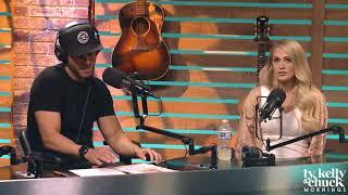 "Chuck Wicks Tells Carrie Underwood She Looks ""So Pregnant"" - Ty, Kelly & Chuck"