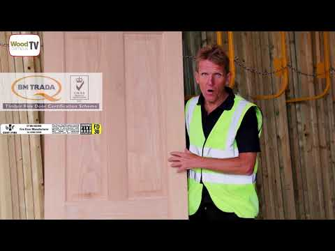 Wood Campus TV Fire Doors