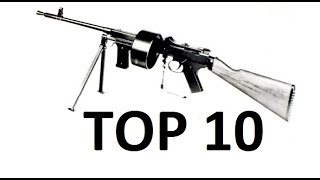 Top 10 Rarest Assault Rifles Of World War II ( For COD WW2 )