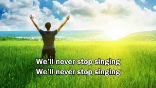 Louder - Matt Redman New 2015 (Worship Song with Joy)