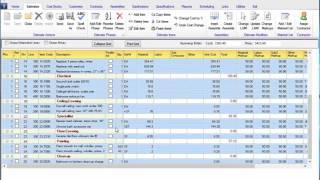 Advantage 6.0 - How to Create an Estimate
