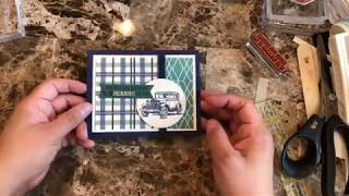 Quick And Easy Masculine Card