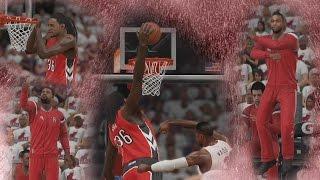 NBA 2K15 PS4 My CUHreer - Ridiculous Dunk! QFG4