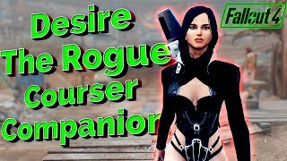 Fallout 4 Mods - Desire The Rogue Courser Companion Mod - BEAUTY OF THE COMMONWEALTH!