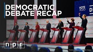 Sixth Democratic Debate Recap | NPR Politics