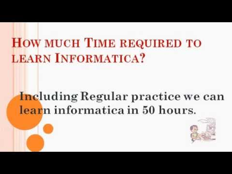 #Informatica #Online #Training #Introduction for Beginners || @Informatica Videos