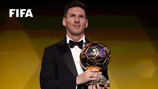 LIONEL MESSI REACTION: FIFA Ballon d'Or winner [FULL]