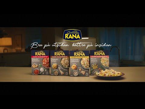 Musique pub Giovanni Rana Spot Suède 2021 – Pâtes Kit    juillet 2021