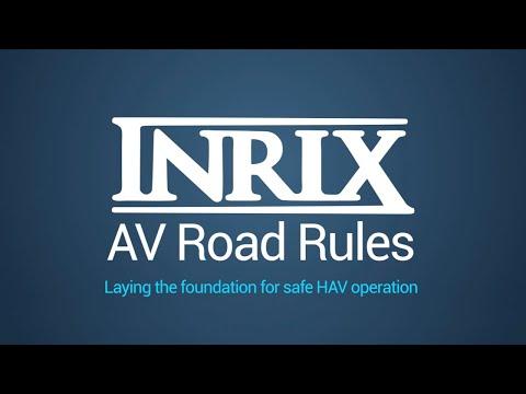 Inrix verbindet Behörden und Fahrende für Autonomes Fahren