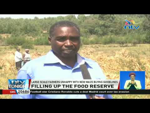 The government insists it will only buy 400 bags of maize per farmer