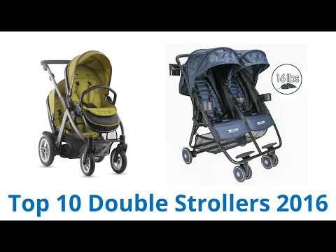 10 Best Double Strollers 2016