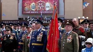У стелы «Город воинской славы» прошел митинг, посвященный 74-й годовщине Победы