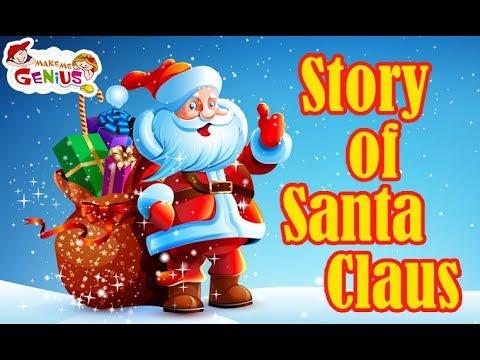 The Story of Santa Claus for Kids #SANTA #CHRISTMAS