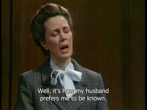 Svědkyně u soudu - A Bit of Fry and Laurie